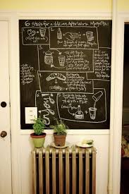 Kitchen: Diy Built-in Wall Kitchen Chalkboard Ideas - Chalkboard Kitchen  Decor