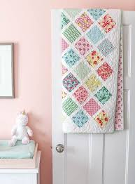 13 free baby quilt patterns to sew