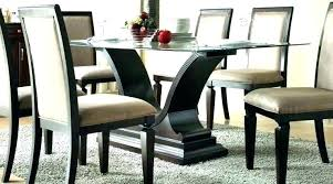 dining table bases for glass tops glass dining table base glass table with wood base glass