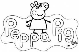 Peppa Pig Da Colorare Cose Per Crescere