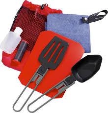 <b>Набор</b> походной посуды <b>MSR</b> Ultralight Kitchen Set, 03140, красный