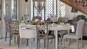 image of rustic mismatched dining chairs