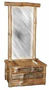 log rustic furniture amish. fisamishrusiclogmirrorseat log rustic furniture amish