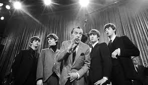 「1964年 - ビートルズが『エド・サリヴァン・ショー』に初出演。」の画像検索結果