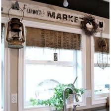 rustic kitchen curtains what a cool way to rustic curtains in the kitchen decorating the country