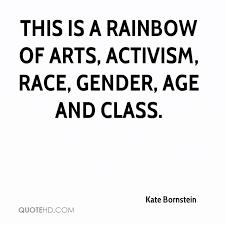 Activism Quotes Enchanting Kate Bornstein Quotes QuoteHD