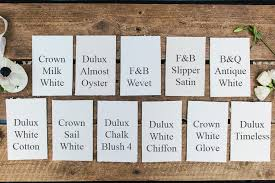 Albany Paint Colour Chart Choosing A White Paint