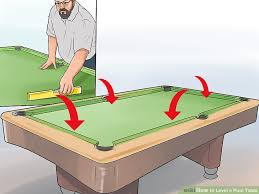 image titled level a pool table step 4