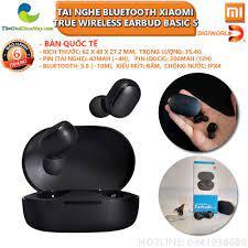 Bản quốc tế] Tai nghe không dây Bluetooth Xiaomi Mi True Wireless Earbud  Basic S - Bảo hành 6 tháng - Shop Thế Giới Điện Máy Thế giới điện máy - đại