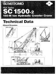 Crawler Cranes Sumitomo Specifications Cranemarket Page 2