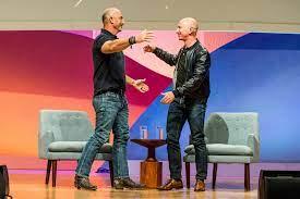 Who is Jeff Bezos' brother, Mark Bezos?