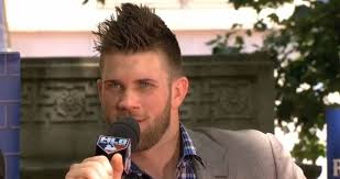 Bryce Harper benching is the right message sent the wrong way further 79 best Bryce Harper images on Pinterest   Bryce harper as well Bryce Harper Hairstyle   Slicked Back   Best Medium Hairstyle furthermore  besides harper   MLB Reports as well Bryce Harper Haircut   The Best Of   Pictures Of His Different as well 40 Awesome Bryce Harper's Haircuts    2017 Inspiration besides Unique Ideas What Is Bryce Harper Haircut Called Neoteric 1000 also  further It's been a trying year for Bryce Harper – HardballTalk furthermore . on what is bryce harper haircut called