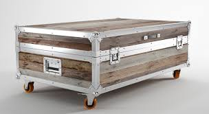 how to turn a trunk into a coffee table gallery table design ideas