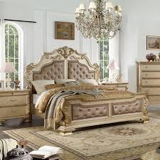 picture of miranda gold 5 pc queen bedroom