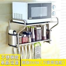 microwave oven wall mount microwave wall shelf wall shelf for microwave wall mount shelving single layer microwave oven wall mount
