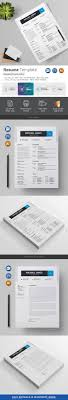 Resume Paper Size Resume Template Ai Illustrator And Font Logo 18