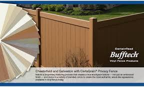 brown vinyl fence panels. Bufftech® Vinyl Fence \u2014 The Smart Choice Brown Panels O
