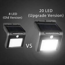 outdoor solar spot lights best of solar lights outdoor 54 led super bright wide angle solar
