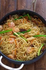 lo mein noodles shrimp