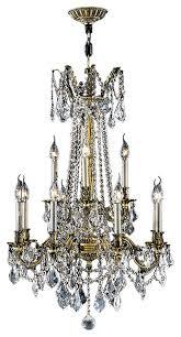 windsor 12 light antique bronze finish crystal chandelier cast brass 24
