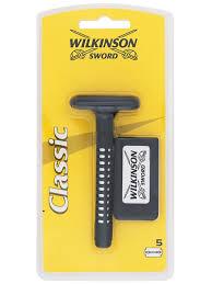 Classic <b>Станок для бритья</b> с 5 запасными лезвиями Wilkinson ...