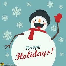Holidays Snowman Snowman Happy Holidays View The Popular Snowman Happy Holidays Ecard