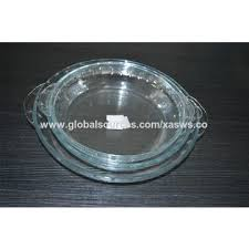 china 700ml ovenable pyrex glass baking dishes with ear