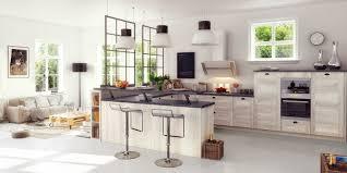 Cuisine Aménagée Ouverte Latelier Valtero Cuisine Meuble Salon