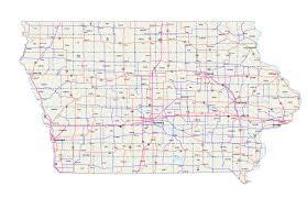 iowa maps  iowa map  iowa road map  iowa state map