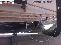 garage door bracketHow to fix my garage door Is it possible to fix a splitdent on