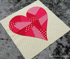 February Riley Blake Mystery Quilt Block – Hearts & And here are the January and February blocks together. I think I'm ready  for March! Adamdwight.com