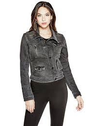 denim biker jacket guess uk by guess guess leather jackets no tax
