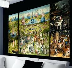 garden of earthly delights poster. The Garden Of Earthly Delights Wall Sticker . Poster