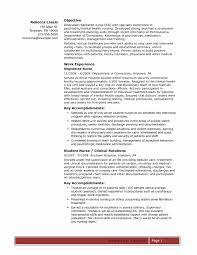 Free Sample Of Resume Free Sample Resume Elegant Nurse Resume Free Sample Sample Icu Rn 52