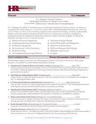 Sample Resume Format For Hr Professional Resumes Sample Online