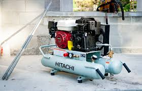 hitachi pancake air compressor. hitachi 8-gallon gas powered wheelbarrow air compressor pancake