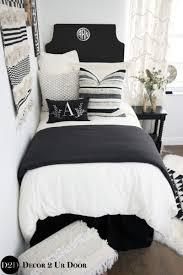 Dorm Bedding Decor Neutral Dorm Room Bedding