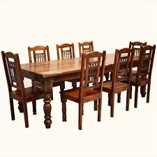 Wood Dining Table Set Rustic Wood Dining Table Set Furniture Dining Room Furniture Nook