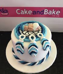 Dream Catcher Baby Shower Cake Baby Shower Dream Catcher 100 servings Cake And Bake 69