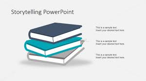 Story Book Powerpoint Template Story Books Shapes For Powerpoint Slidemodel