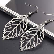 <b>Women</b> Elegant <b>Vintage</b> Style Metal Hollow Tree Leaves Pierced ...