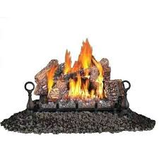 vent free natural gas log set vented vs ventless fireplace stoves n