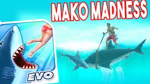 hungry shark evolution funny moments mako madness