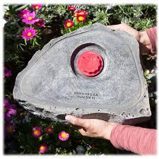 garden stone urn pet memorials