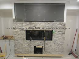 bennoch basement stone around napoleon horizontal gas fireplace