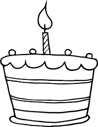 Small Picture 7 Images of Birthday Cake Without Candles Coloring Page Birthday