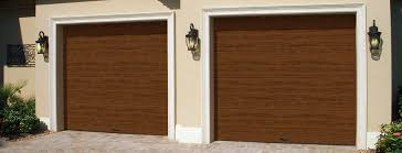 walnut garage doorsFlush UltraGrain Collection  Holmes Garage Door Company