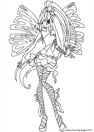 Small Picture Sirenix Stella Winx Club Coloring Pages Printable