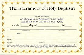 Baptism Certificate Baptism Certificates K 1520 Sola Publishing