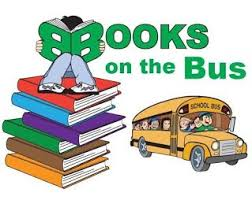 Image result for school bus with books clipart